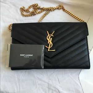 Large chain ysl bag